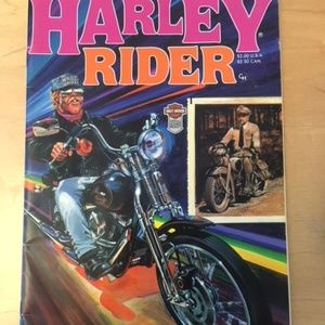 Harley Rider Comic Book Issue #1